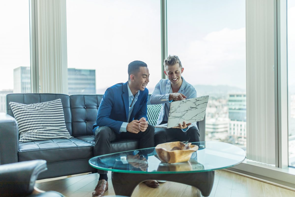 The two men have soft skills like communication and being able to connect, which are important in the post-COVID world