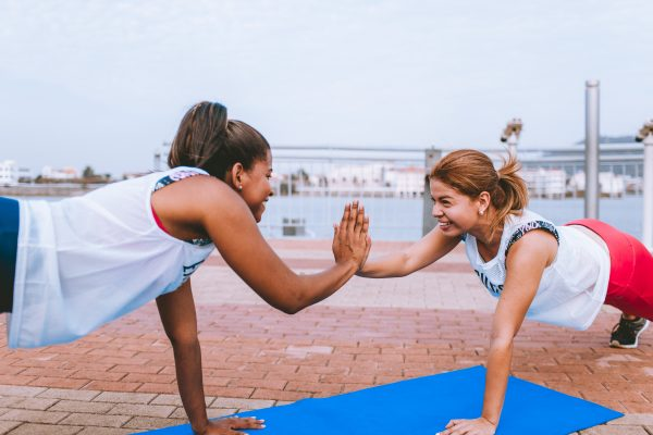 Women are training how to be strong and resilient for the future